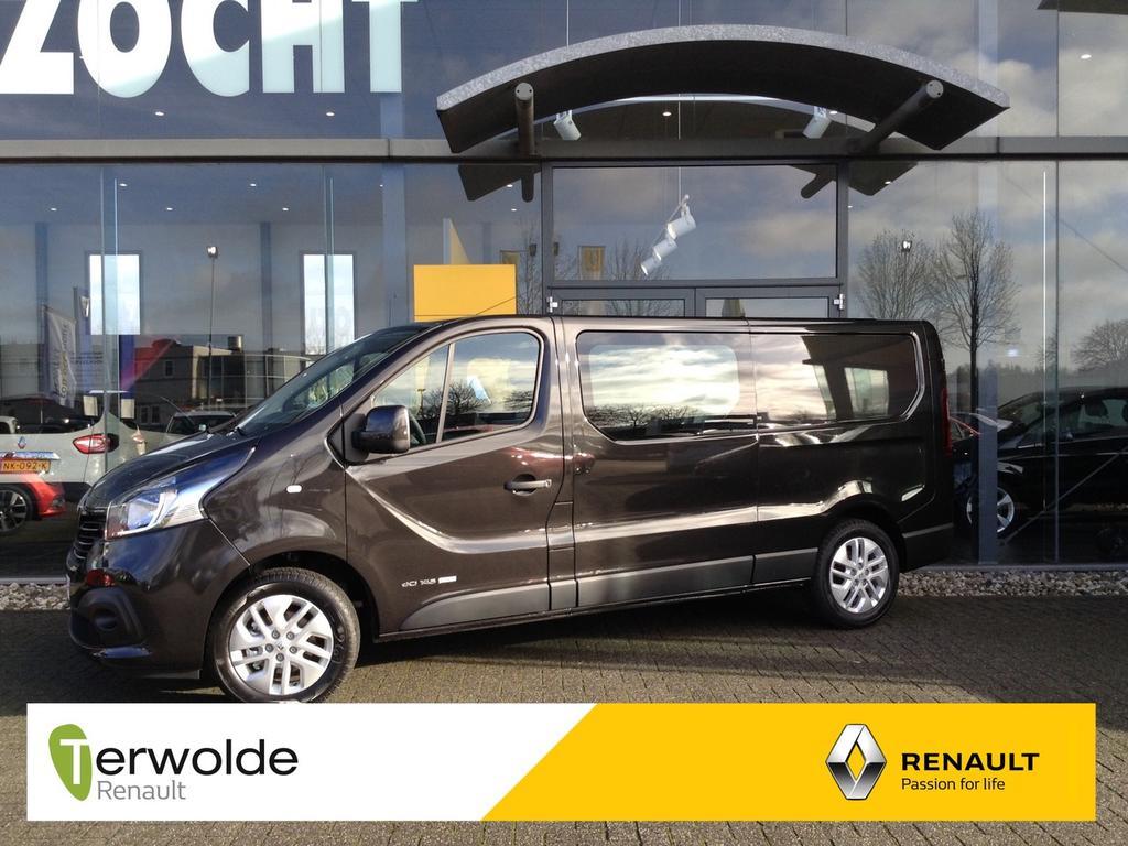 Renault Trafic 1.6 dci t29 l2h1 dc luxe energy bpm voordeel, lage bpm direct rijden uit voorraad!