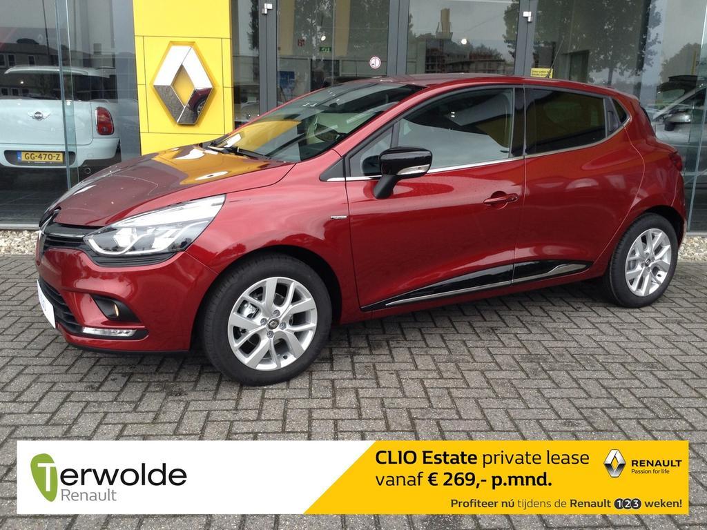 Renault Clio 1.5 dci limited € 2.405,- korting :  vanaf  € 239   private lease en 2,9 % financiering bpm voordeel, lage bpm direct rijden uit voorraad!