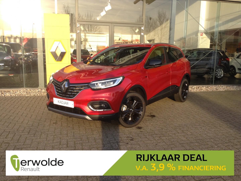 Renault Kadjar 1.3 160pk tce black edition nieuw en uit voorraad leverbaar! financieren tegen 3,9% rente !  eur 3.642,- korting!