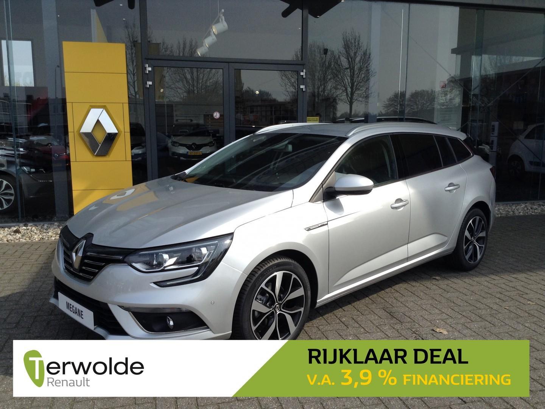 Renault Mégane Estate 1.3 tce bose 140pk nieuw en uit voorraad leverbaar! financieren tegen 3,9% rente ! eur 3.459,- korting!