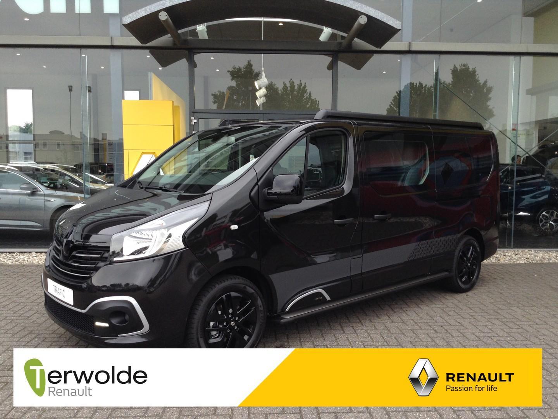 Renault Trafic 1.6 dci t29 l2h1 dc limited 145 pk nu uit voorraad leverbaar! financieren tegen 0% rente mogelijk!