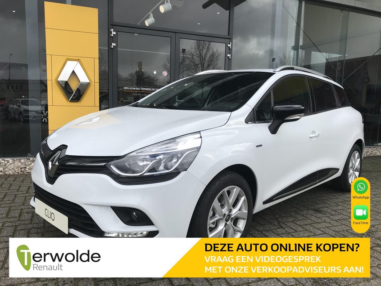 Renault Clio Estate 0.9 tce limited nieuw en uit voorraad leverbaar! financieren tegen 3,9% rente! inclusief korting eur 3250,-