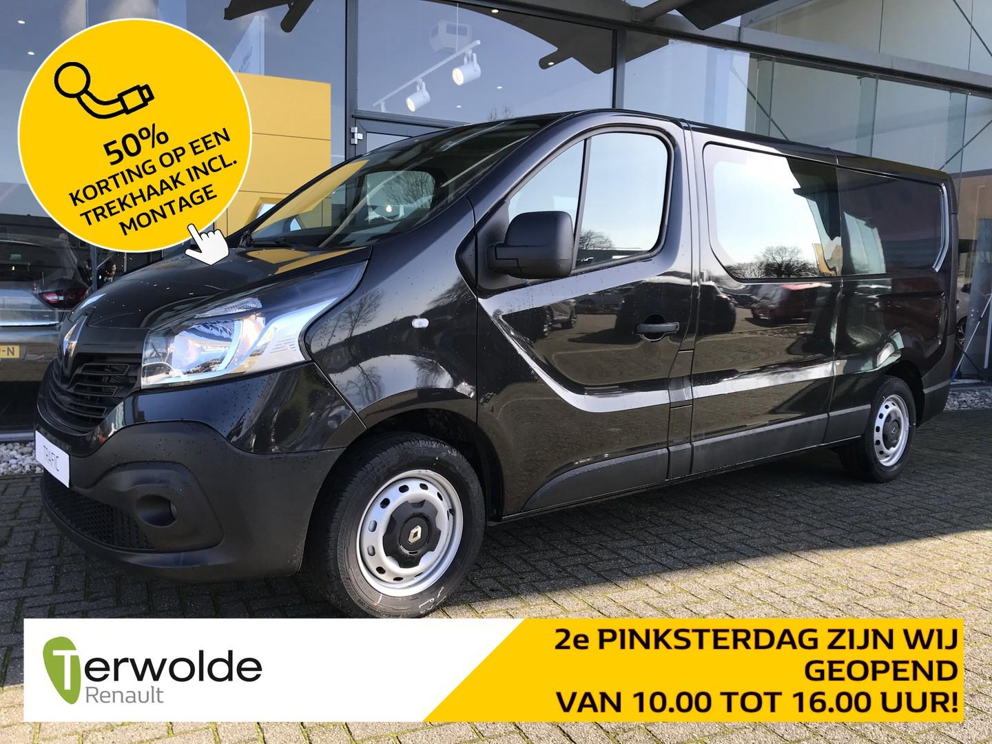 Renault Trafic 1.6 dci t29 l2h1 dubbele cabine comfort inclusief 7.035 euro korting! 6 persoons!