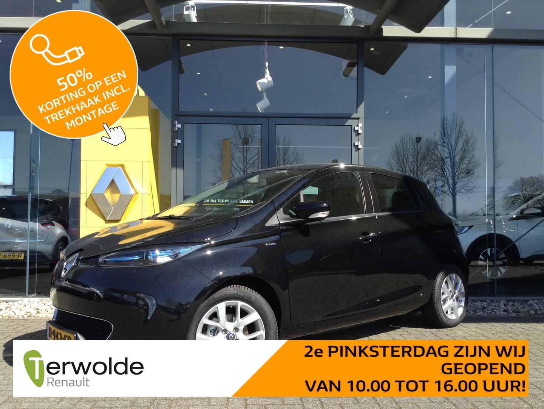 Renault Zoe R110 limited 41 kwh eur 4.210,- korting! 4% bijtelling! gratis laadpas* of gratis laadpunt twv eur 1549 ex btw!