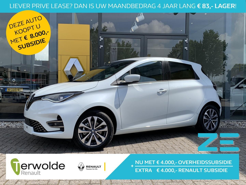 Renault Zoe R135 intens 50 (batterijkoop) gratis laadpas* of laadpuntvergoeding max. 975 euro! eur 4000,- renault subsidie!