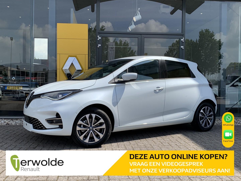 Renault Zoe R135 intens 50 (batterijkoop) gratis laadpas* of laadpuntvergoeding max. 975 euro! eur 2500,- renault subsidie!