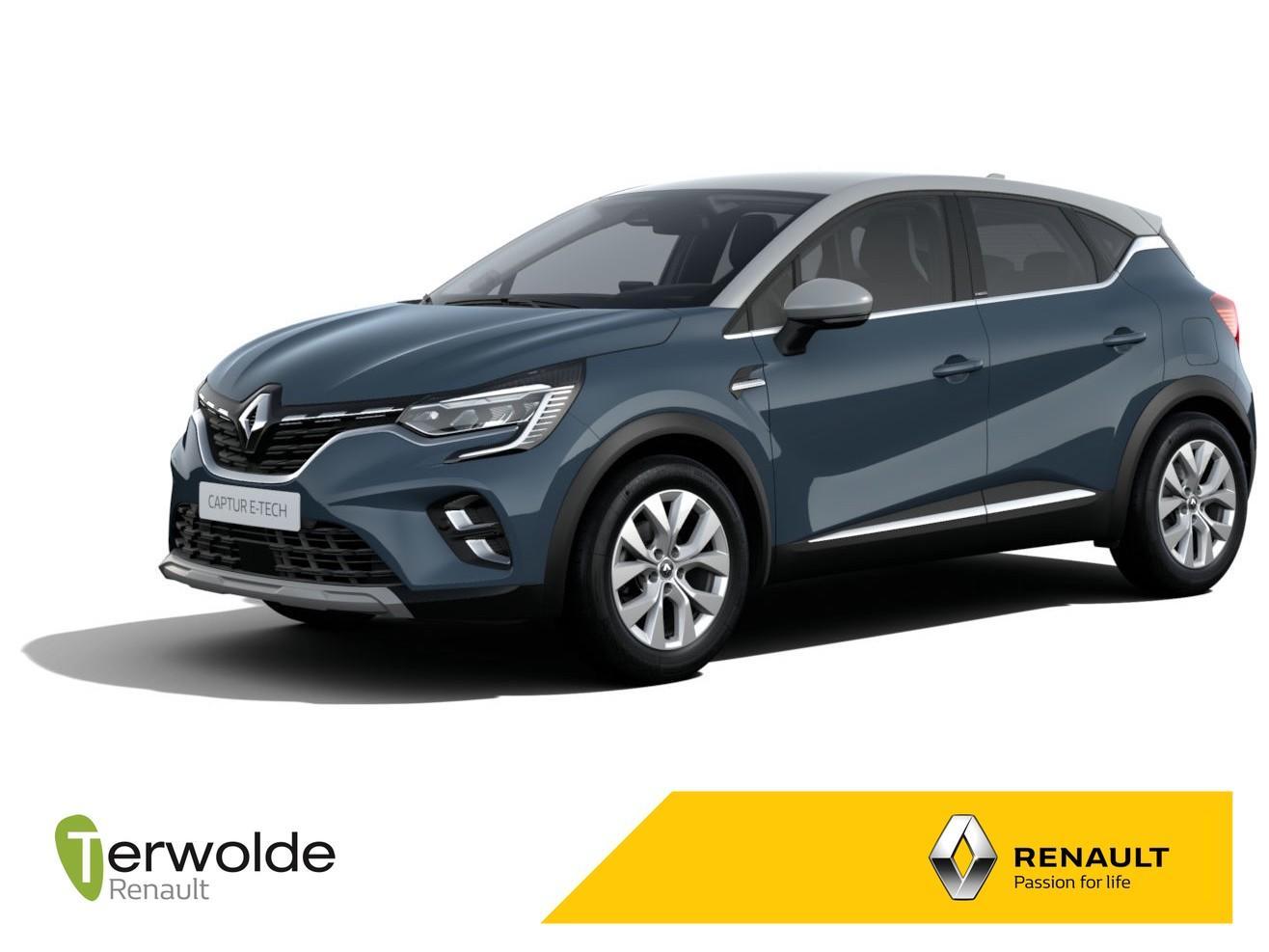 Renault Captur 1.6 plug-in hybrid intens private lease vanaf €349,-! eur 2615,- korting! financiering tegen 2,5% rente!