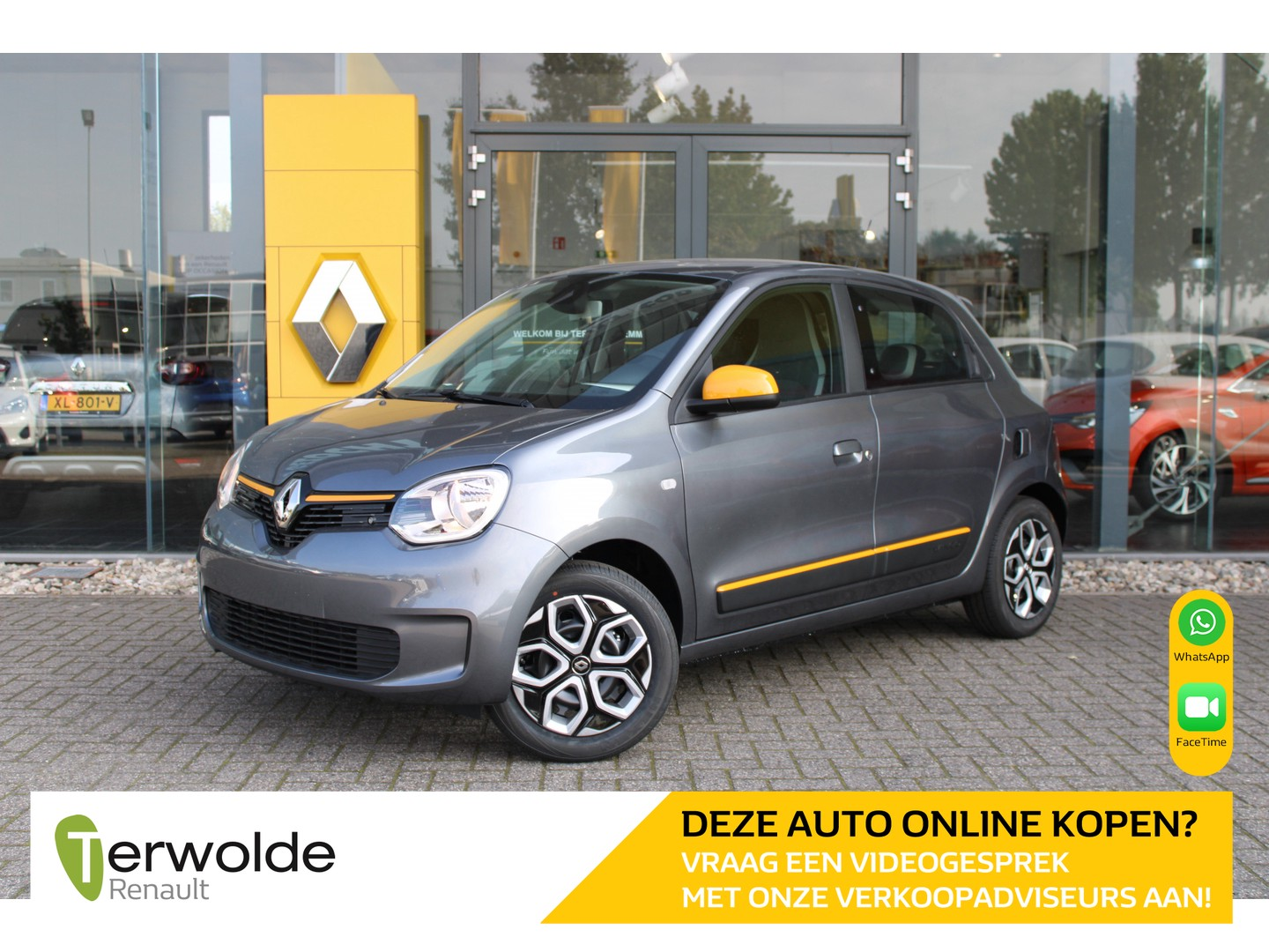 Renault Twingo 1.0 sce collection private lease vanaf € 229,-! eur 1086,- korting! financiering tegen 3,9% rente!