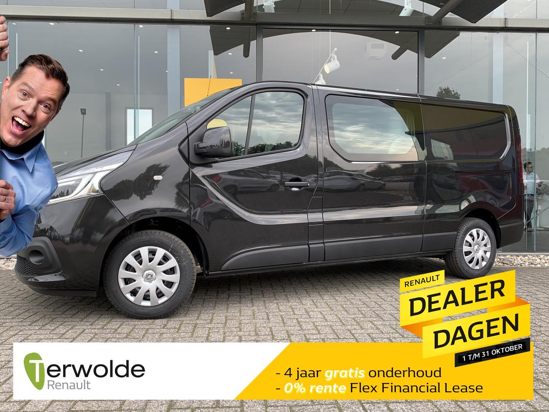 Renault Trafic 2.0 dci 120 t29 l2h1 dc business financieren tegen 0% rente! nieuw en uit voorraad leverbaar!