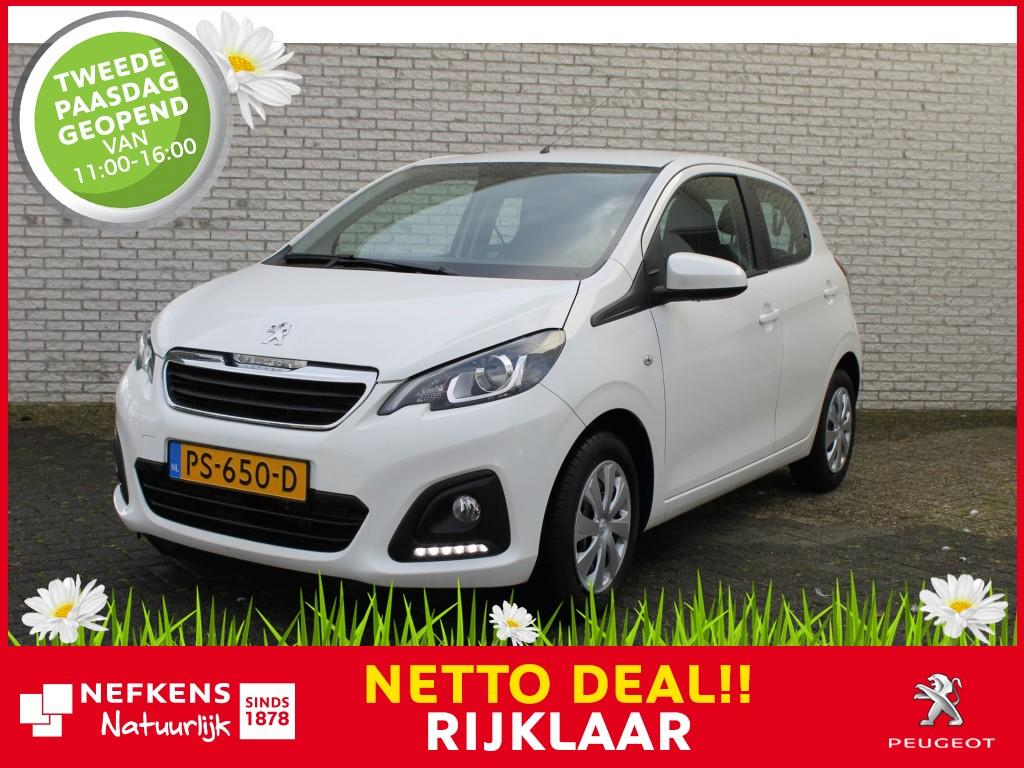 Peugeot 108 1.0 e-vti active *airco*bluetooth*usb*cpv met afstandsbediening*