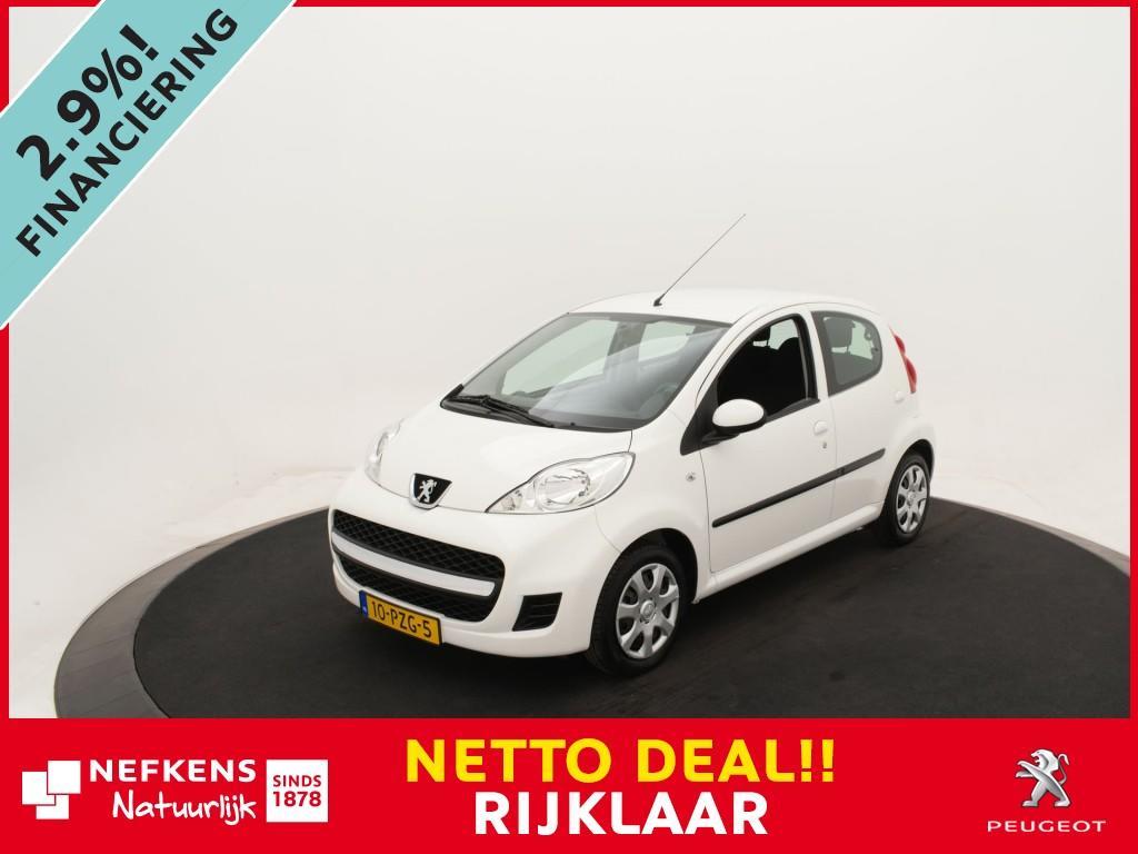 Peugeot 107 1.0-12v xs 5-drs *airco*elektrische ramen*5 deurs* *nettodeal!*rijklaarprijs!*