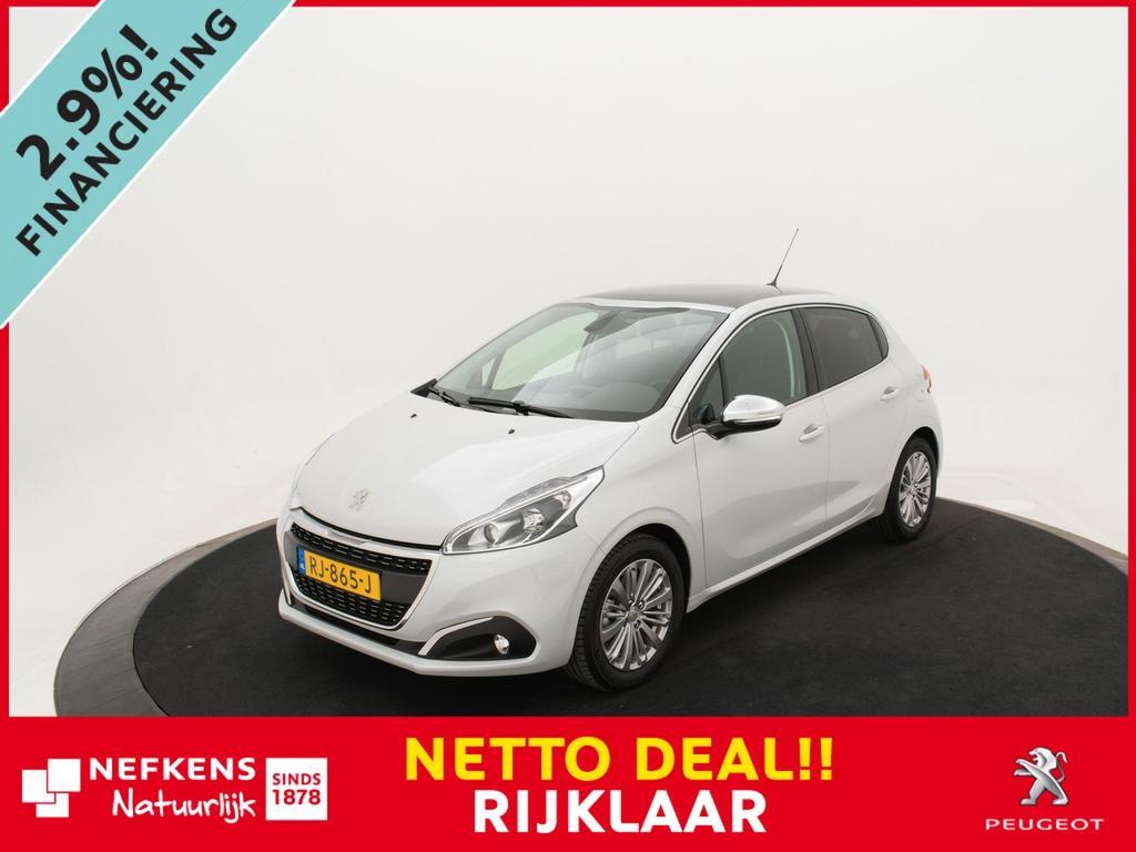 Peugeot 208 1.2 puretech allure 110pk *panoramadak*clima*lm-velgen*navigatie* *demo deals!*