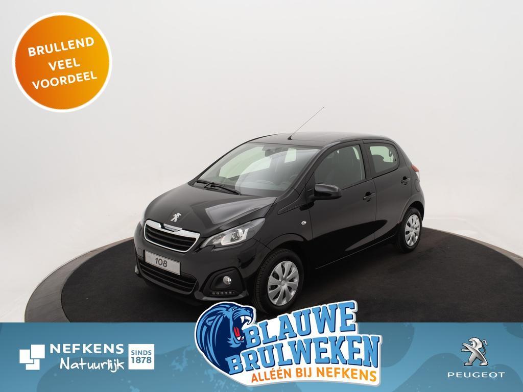 Peugeot 108 1.0 e-vti active *airco*led verlichting*bluetooth* *voorraadvoordeel bij nefkens!*