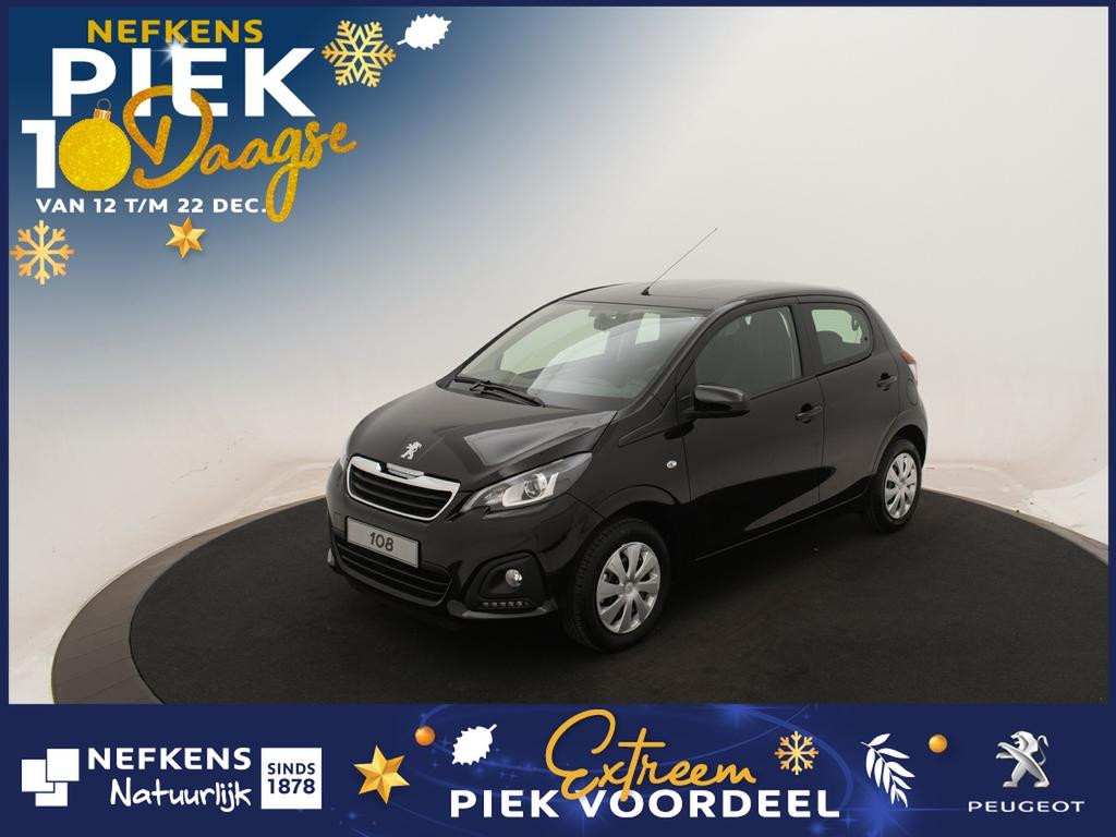 Peugeot 108 1.0 e-vti active *airco*bluetooth*led dagrijverlichting* *voorraadvoordeel bij nefkens!*