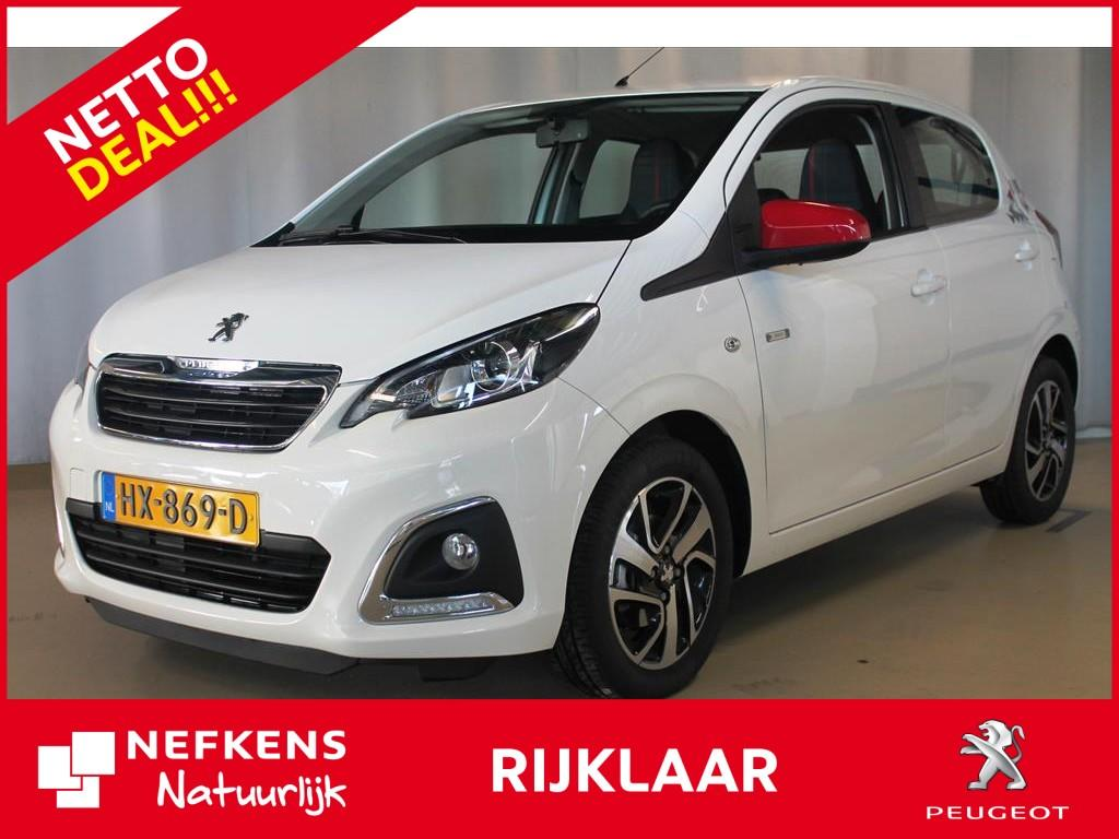 Peugeot 108 1.0 68 pk envy netto deal & rijklaar