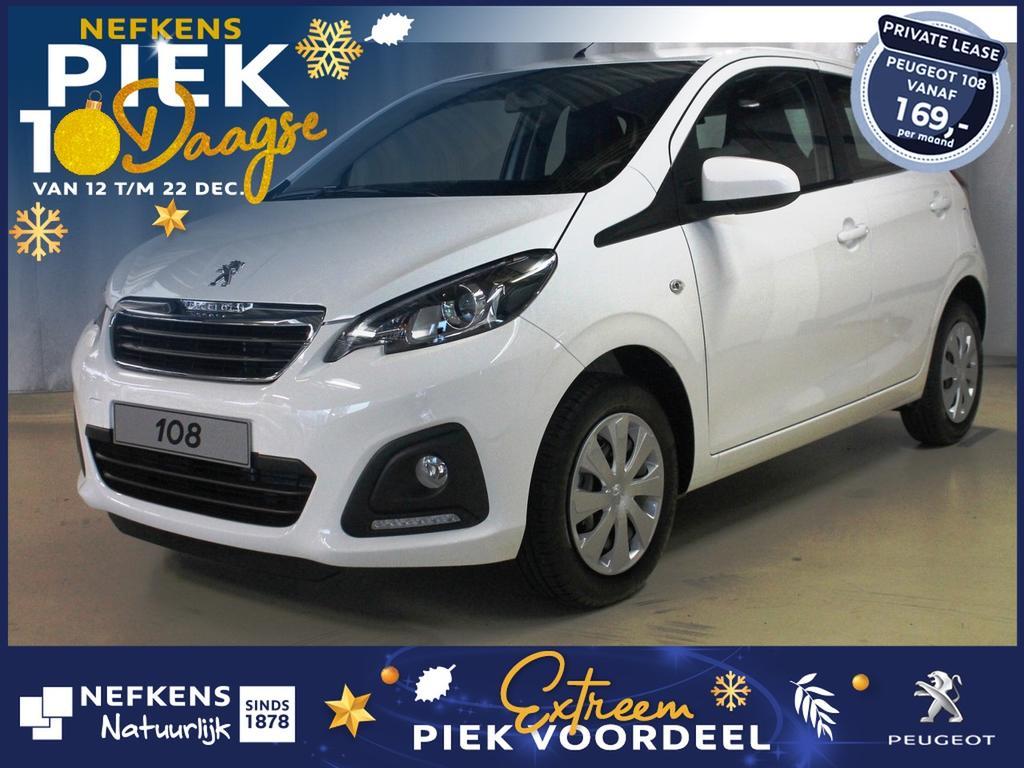 Peugeot 108 1.0 72 pk active voorraad rijklaarprijs! voorraad voordeel!