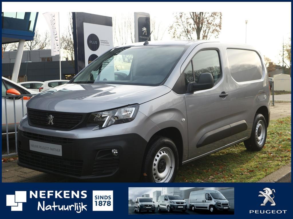 Peugeot Partner 1.6 bluehdi 100 pk 120 l1 premium s&s 650kg nieuw model! voorraad voordeel!