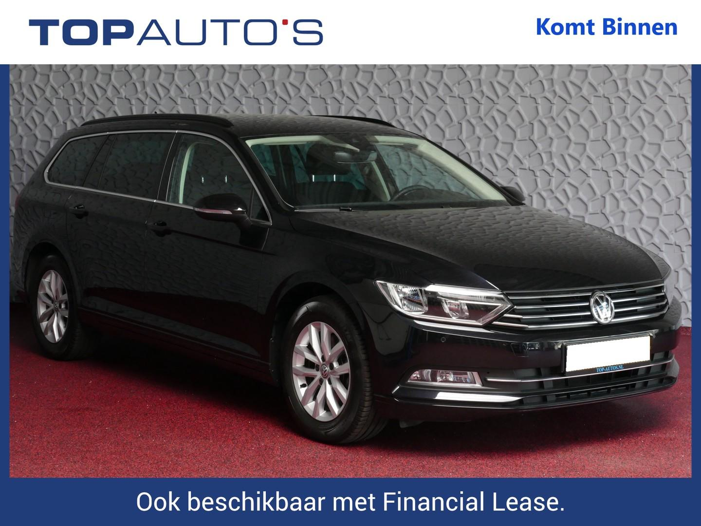 Volkswagen Passat Variant 1.4 tsi 150pk 06/19 comfortl virtual cockpit full led navi camera stoelverw. acc p.assist