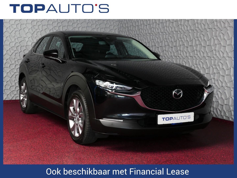 Mazda Cx-30 2.0 skyactiv-g luxury leer bose led adapt.cruise navi 360cam head-up. 18''lmv 12/2019