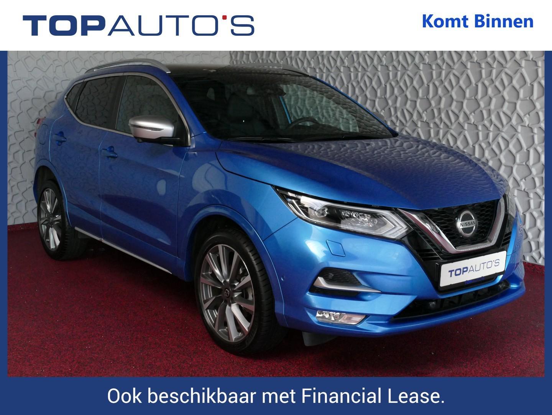 Nissan Qashqai 1.3 dig-t 140 tekna + dynamic bose propilot nappa leer panorama full option bi-led 10/19 nissan specialist uit gelderland , 42 nissans op voorraad !