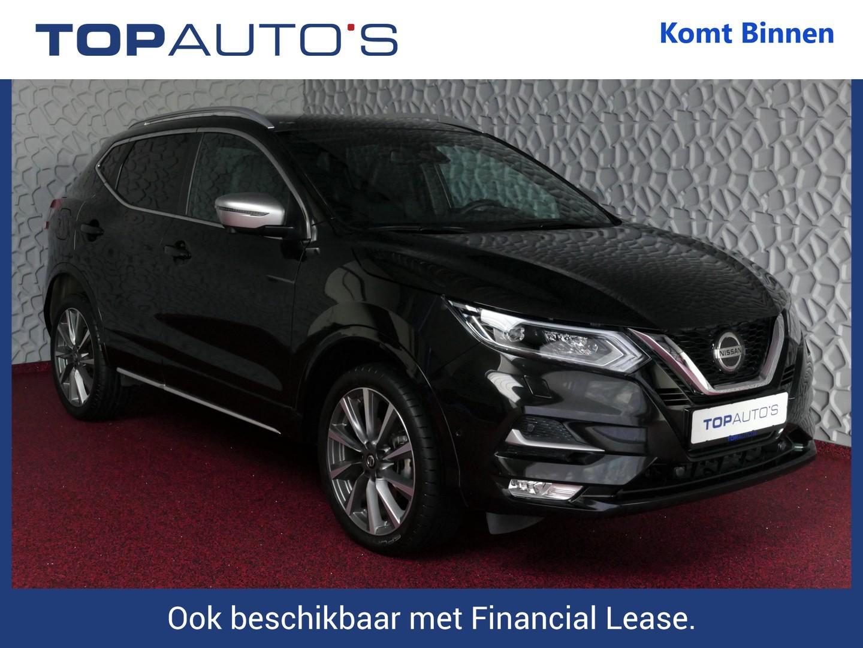 Nissan Qashqai 1.3 dig-t 160! tekna + dynamic bose propilot nappa leer panorama full option bi-led 10/19 nissan specialist uit gelderland , 42 nissans op voorraad !