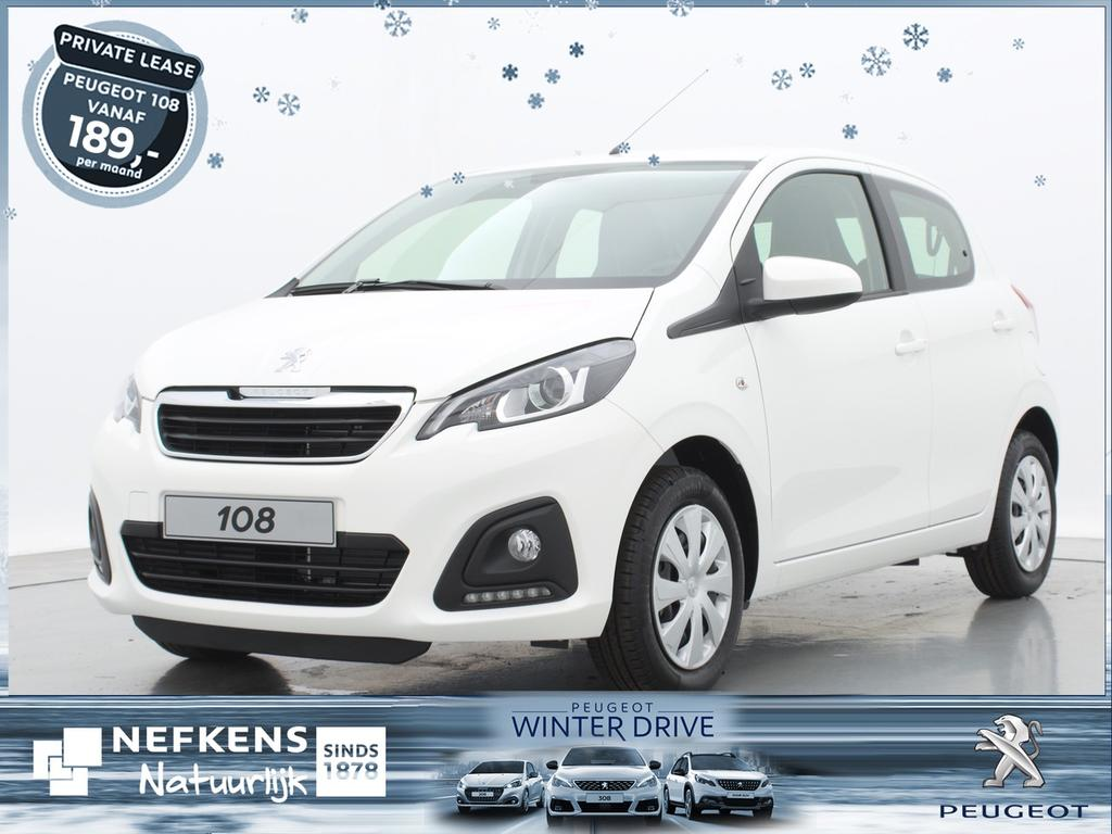 Peugeot 108 1.0 e-vti active of lease'm voor €209