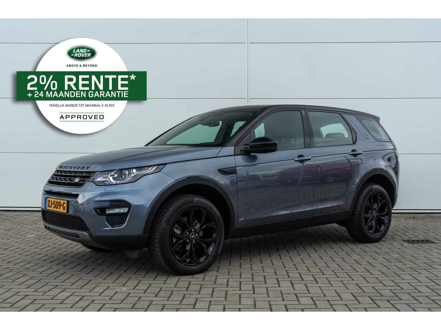 Land rover Discovery sport 2.0 si4 240pk 4wd aut urban series se dynamic - approved label - black pack