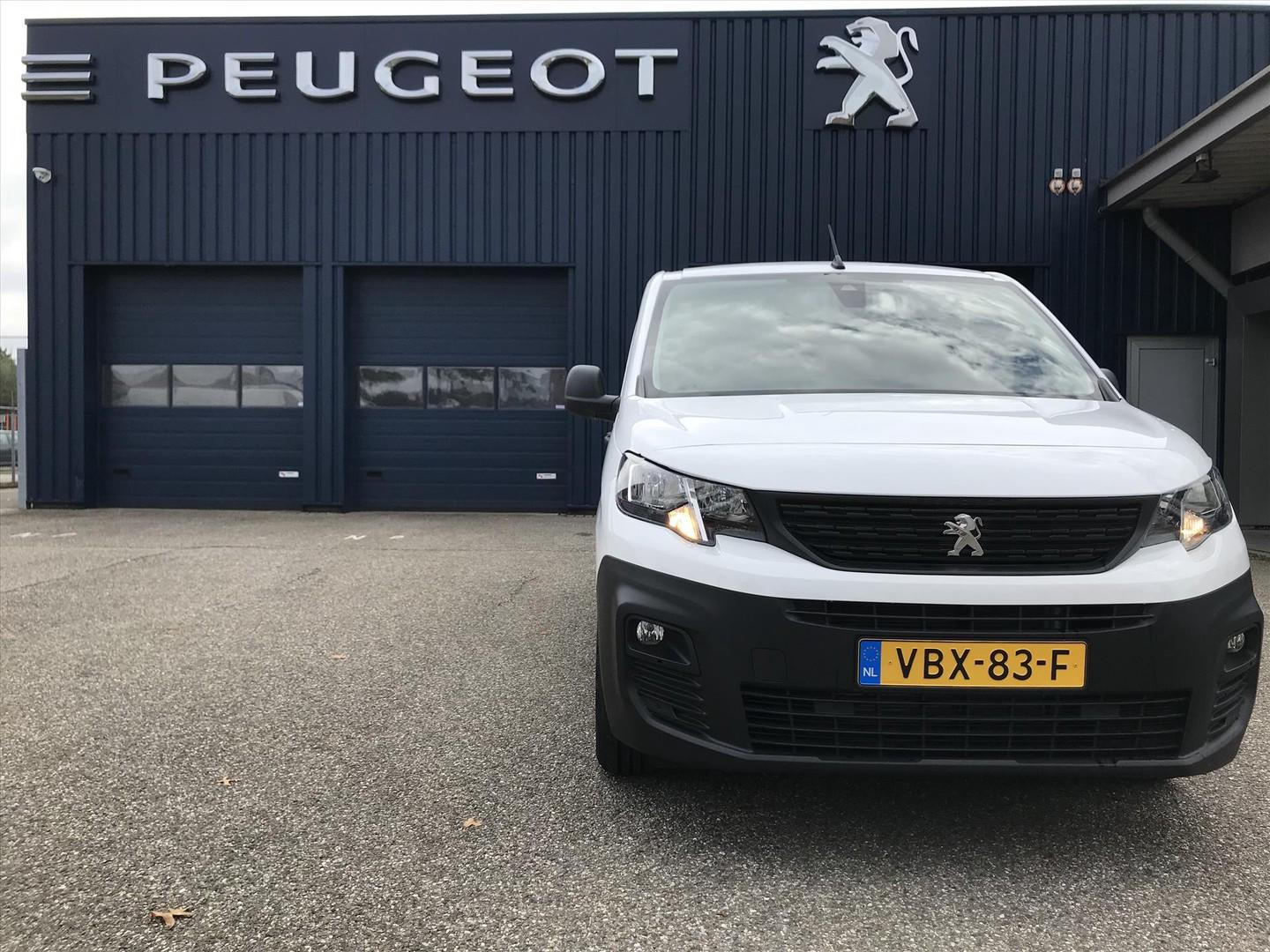 Peugeot Partner New 1.6 bluehdi 75pk 650kg 3-zits pro met camera