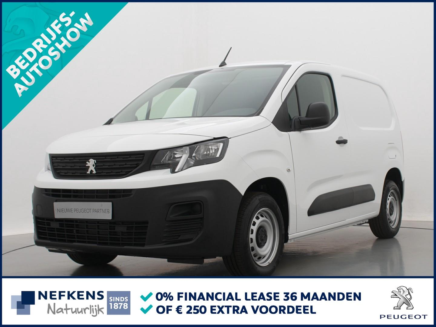 Peugeot Partner 1.5 bluehdi pro go with the pro weken bij nefkens