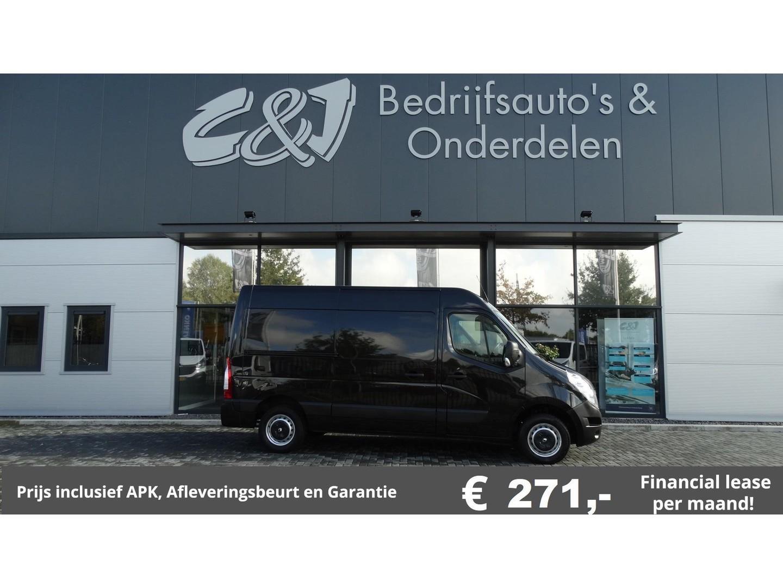 Renault Master T35 2.3 dci l2h2 luxe 2 schuifdeuren 271,- p/md