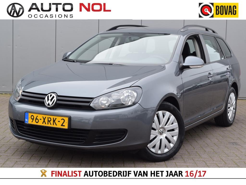 Volkswagen Golf Variant 1.2 tsi trendline bluemotion navi elekramen trekh dakrails centrale vergr  100% onderhouden