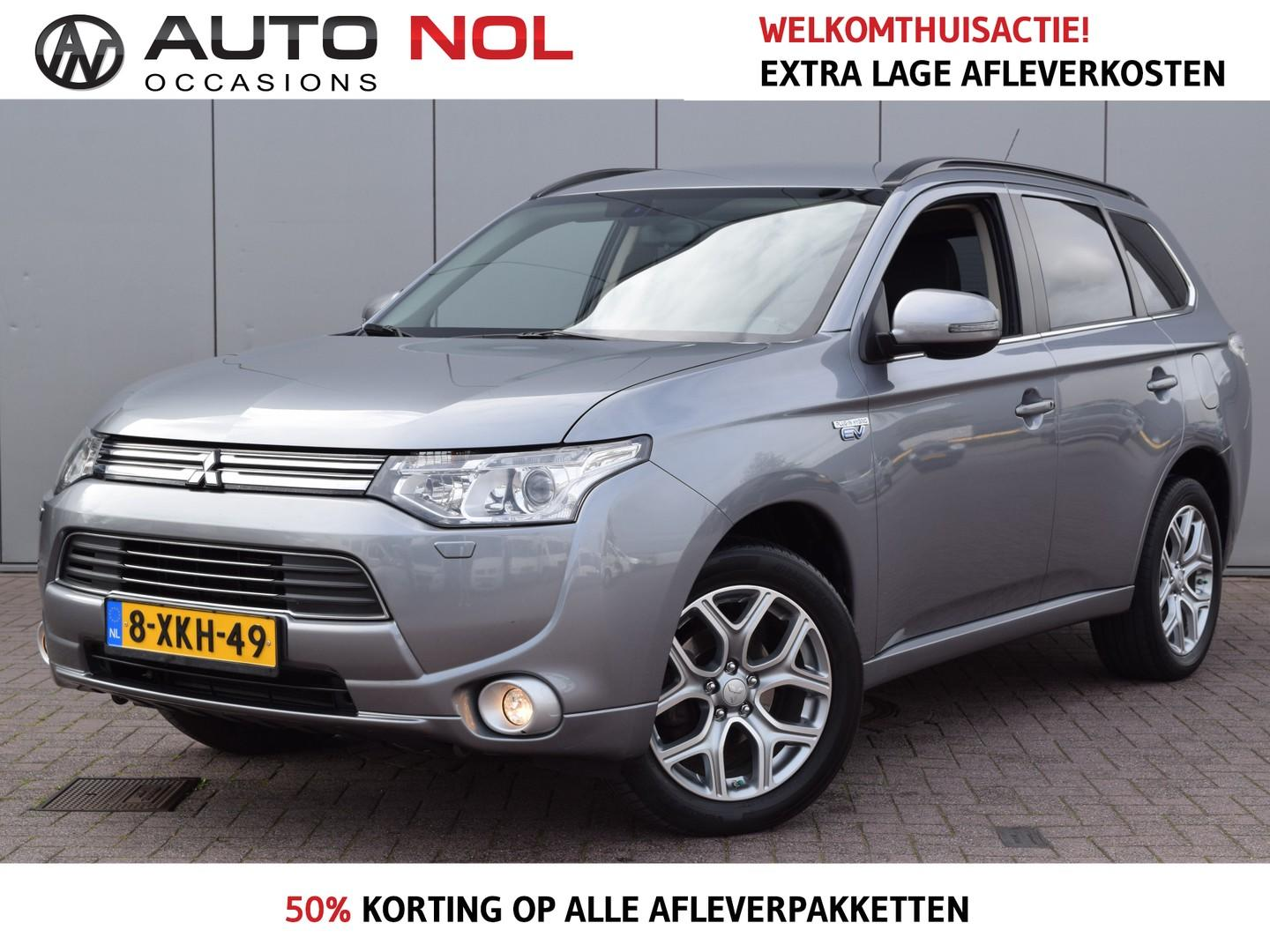 Mitsubishi Outlander 2.0 phev executive edition incl btw 15.996,- navi cruise climate lm18'' trekh isofix  dealer onderhouden