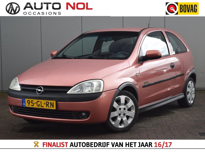 Opel Corsa 1.2-16v elegance airco stuurbekr radio/cd centrale vergr nieuwe apk !