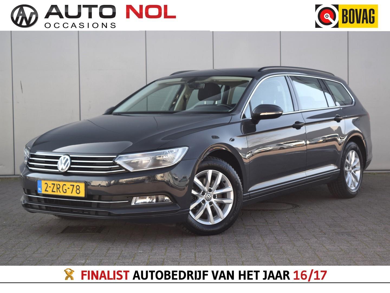Volkswagen Passat Variant 1.6 tdi business edition navi lm16'' elekramen trekh pdc handgesch climate cruise nieuwe apk