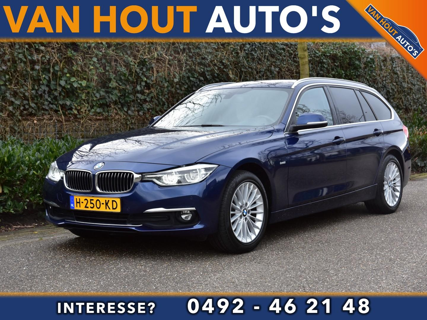 Bmw 3 serie Touring 318d luxury line high executive automaat