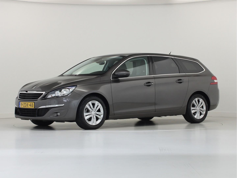Peugeot 308 1.6 hdi 120 pk 6-bak sw blue lease limited