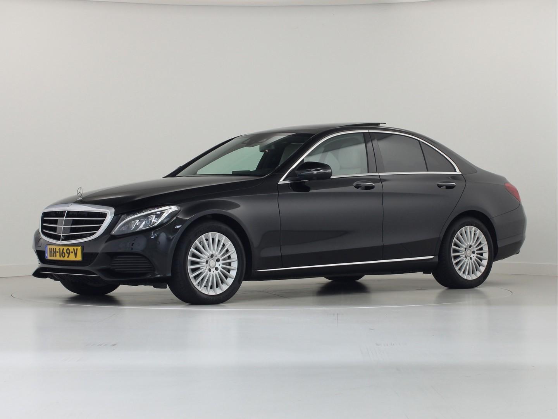 Mercedes-benz C-klasse C350e lease edition plus pano
