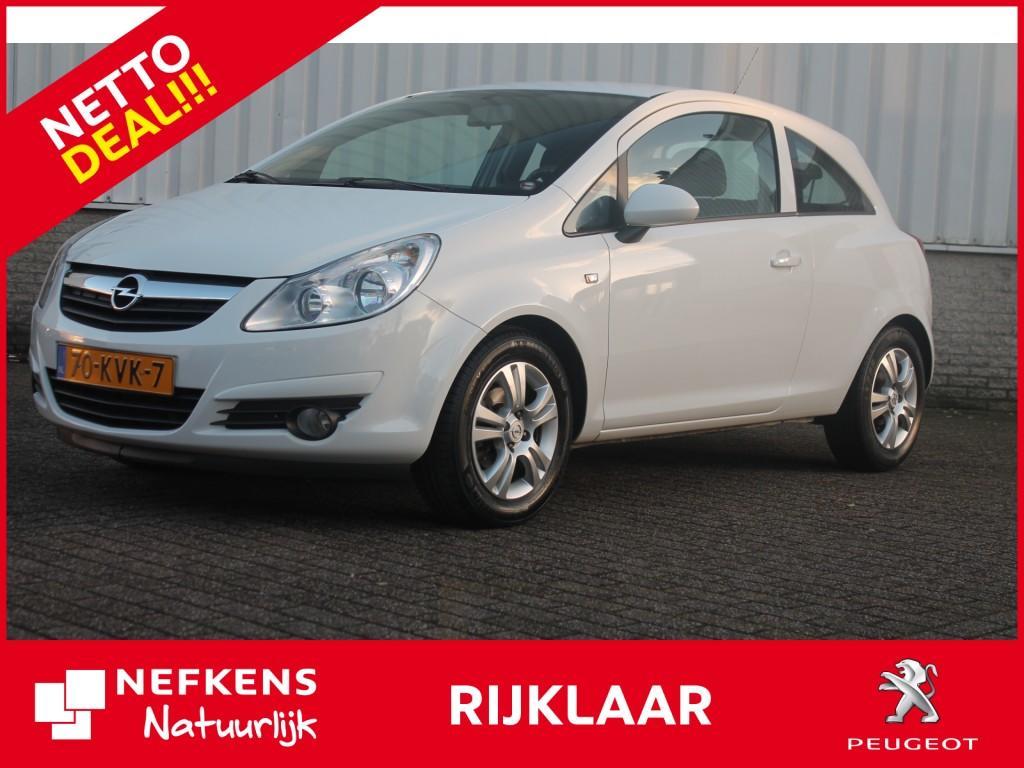 Opel Corsa 3-deurs 1.2-16v selection airco netto deal & rijklaar