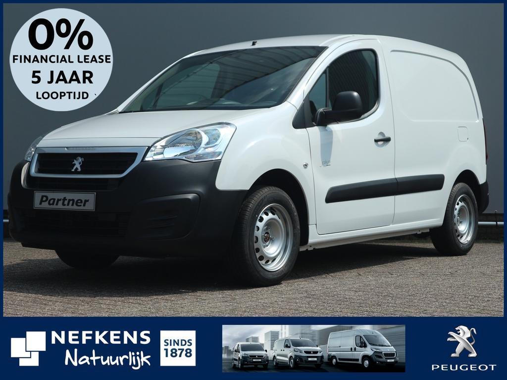 Peugeot Partner L1 120 1.6 hdi 75 pk premium voorraad - voordeel