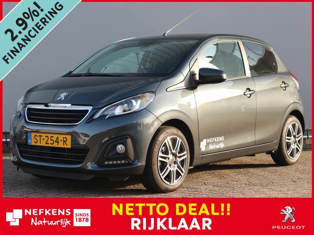 Peugeot 108 1.0 68 pk nefkens edition netto deal & rijklaar