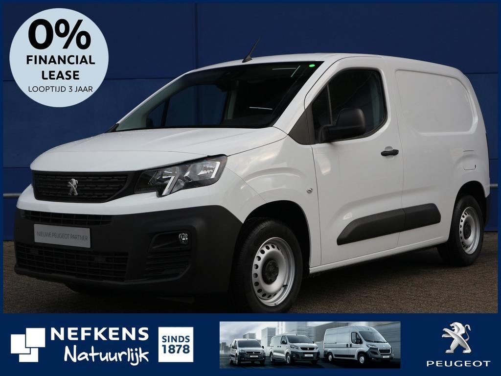 Peugeot Partner Gb 1.6 100 pk bluehdi premiums&s 650kg uit voorraad leverbaar