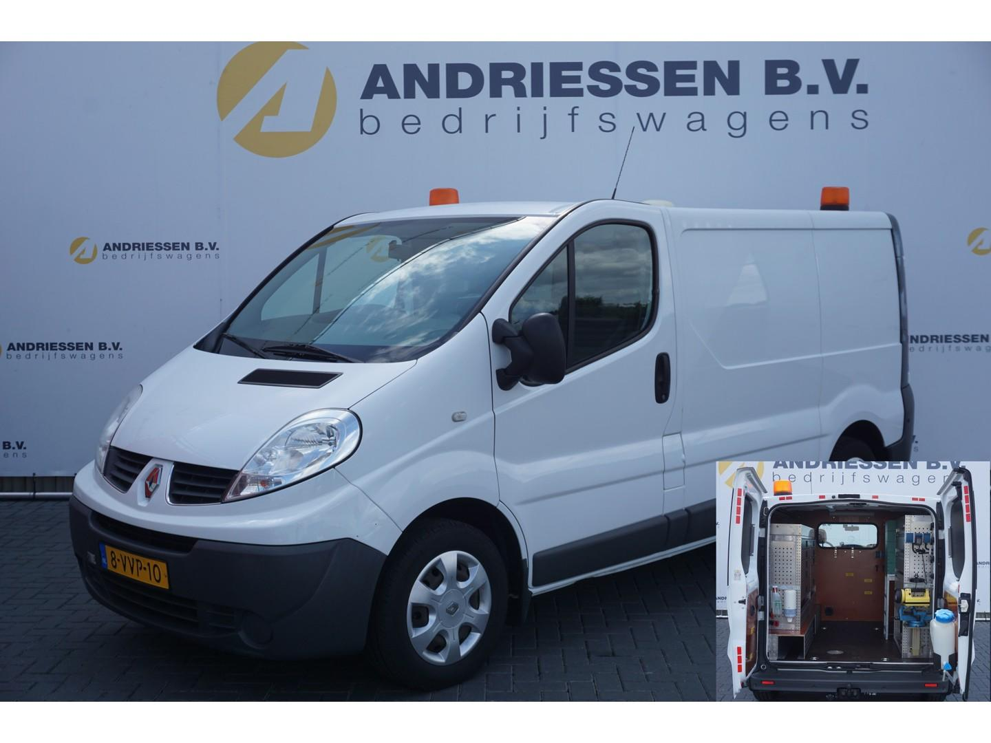 Renault Trafic 2.0 dci l1h1 eco inrichting, 230v, airco, achteruitrijcamera, trekhaak