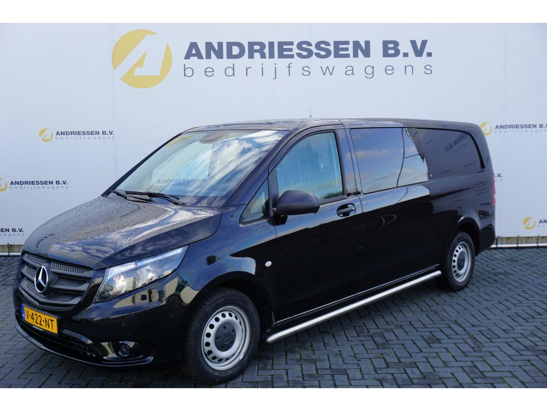 Mercedes-benz Vito 114 cdi, l3h1, automaat dubbele cabine, navigatie, pdc v+a, lederen bekleding