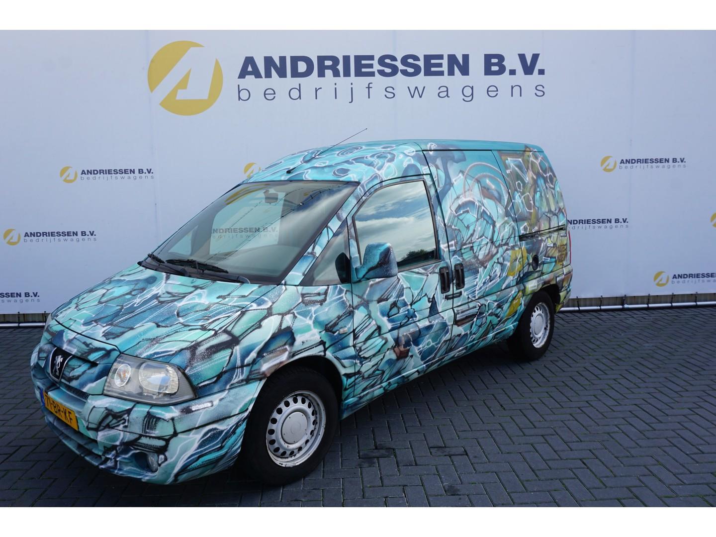 Peugeot Expert 2.0 hdi **kunstobject** airco, zijschuifdeuren l+r