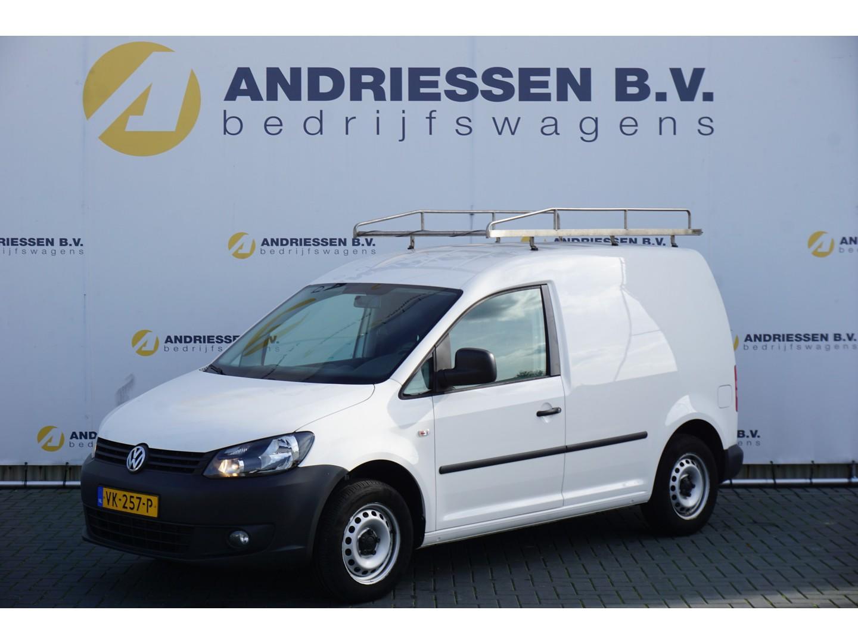 Volkswagen Caddy 1.6 tdi, **79.000km** airco, schuifdeur, imperiaal