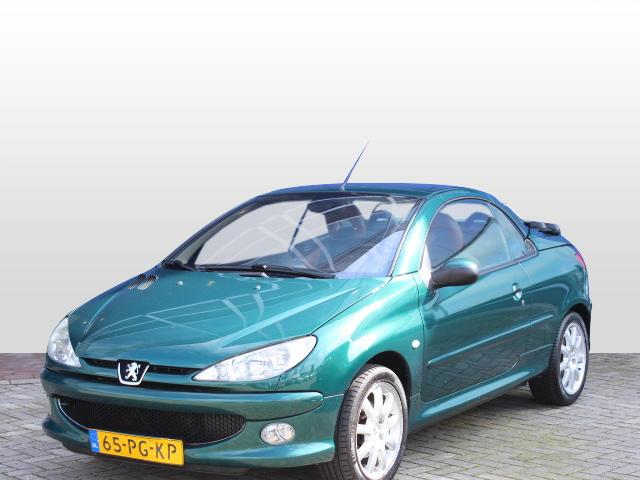 Peugeot 206 Cc 1.6-16v rol. garros clima / leder!