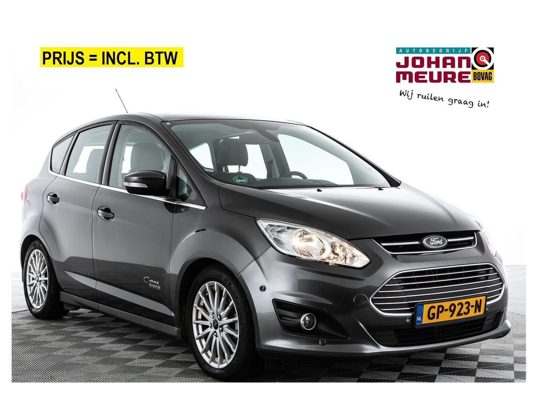 Ford C-max **incl.btw** 2.0 plug-in hybrid titanium plus 1e eigenaar! -a.s. zondag open!-
