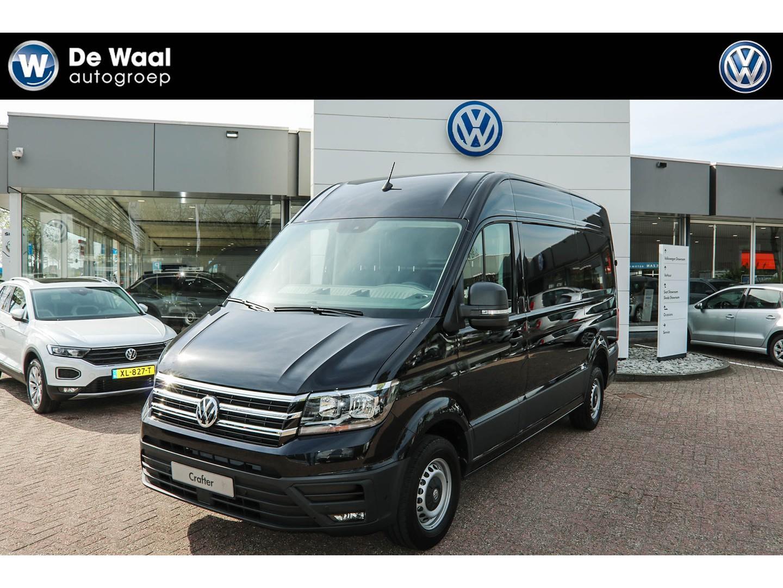 Volkswagen Crafter Uniek achterwielaandrijving!!! 35 2.0 tdi l3h3 rwd el highline pdc, achteruitrijcamera, navi, alarm, bijrijdersbank