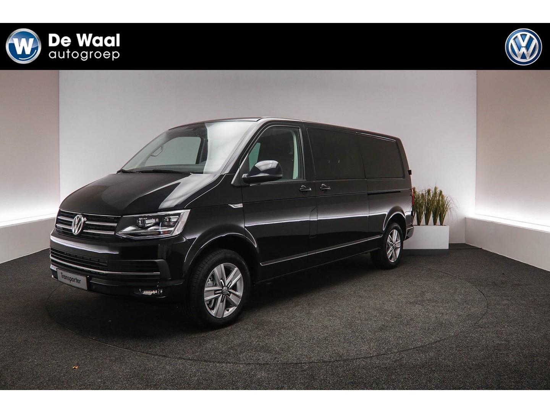 Volkswagen Transporter 2.0 tdi 204pk dsg l2h1 dubbelcabine highline, led koplampen, 2 schuifdeuren, stoelverwarming, navigatie, sluithulp schuifdeuren