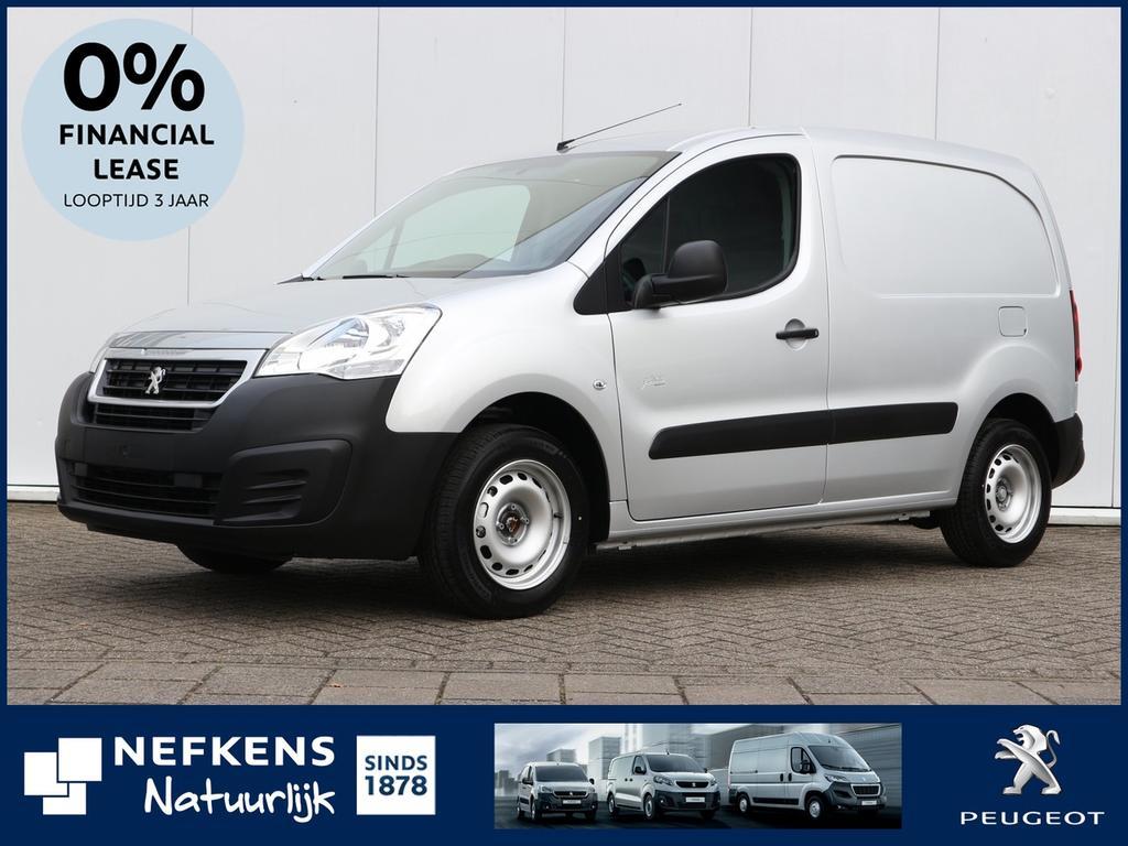 Peugeot Partner 120 1.6 bluehdi 100 l1 premium s&s voorraad voordeel, rijklaar!